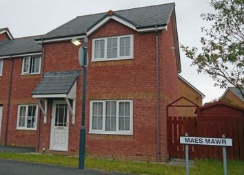 Thumbnail 4 bedroom semi-detached house to rent in Maesmawr, Aberystwyth