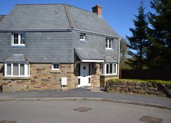 Thumbnail 3 bed link-detached house for sale in Lady Beam Court, Kelly Bray, Callington, Cornwall