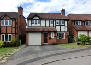 Thumbnail 4 bed detached house for sale in Richmond Close, Hollywood, Birmingham