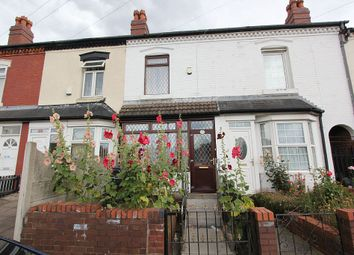 Thumbnail 3 bed terraced house for sale in Whitmore Road, Birmingham, West Midlands