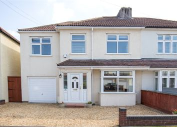Thumbnail 4 bed semi-detached house for sale in Abbey Road, Westbury-On-Trym, Bristol
