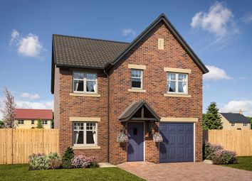 "Thumbnail 4 bed detached house for sale in ""Doxford"" at Mason Avenue, Consett"
