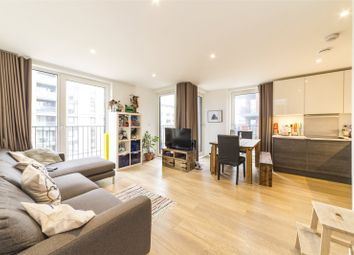 Thumbnail 2 bed flat for sale in Royal Victoria Gardens, Marine Wharf, Whiting Way, London
