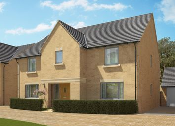 "Thumbnail 5 bed detached house for sale in ""The Wells Variation"" at Crabtree Road, Cambridge"