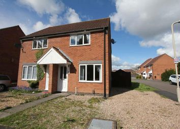 Thumbnail 2 bedroom semi-detached house for sale in Mill Lane, Earl Shilton, Leicester