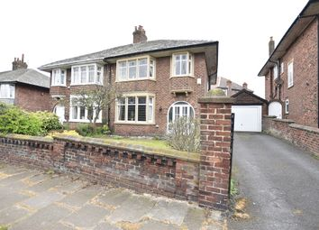 Thumbnail 3 bed semi-detached house for sale in North Park Drive, Blackpool