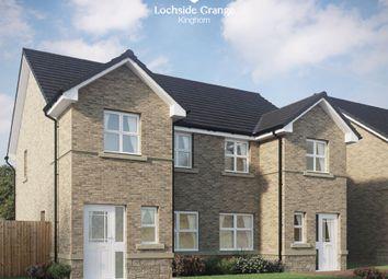 Thumbnail 3 bed semi-detached house for sale in Kilcruik Road, Kinghorn, Burntisland, Fife