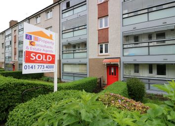 Thumbnail 3 bed flat for sale in Skirsa Street, Cadder, Glasgow