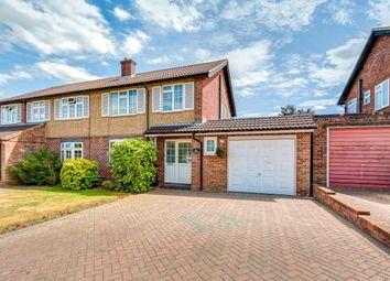Thumbnail 3 bed semi-detached house for sale in Woodfield Way, St.Albans
