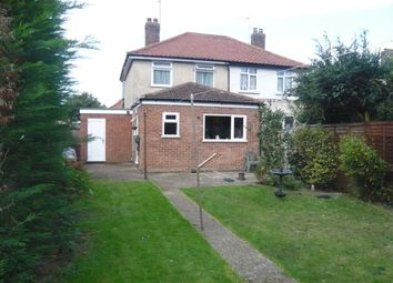 Thumbnail 2 bed semi-detached house for sale in Rushmore Road, Sprowston, Norwich