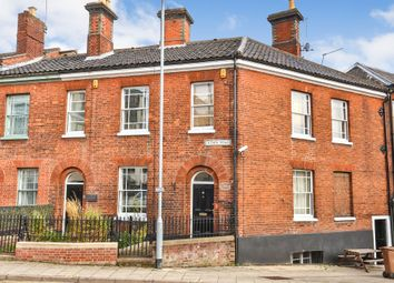 Thumbnail 3 bedroom terraced house for sale in Crown Road, Norwich