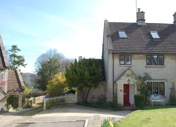 Thumbnail 4 bed semi-detached house for sale in The Firs, Limpley Stoke, Bath