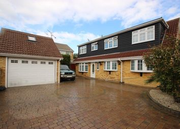 Thumbnail 4 bed detached house for sale in Church Road, Benfleet