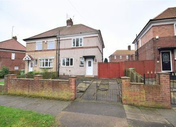 Thumbnail 2 bed semi-detached house for sale in West Moor Road, Pallion, Sunderland