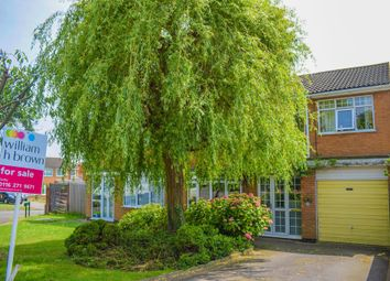Thumbnail 3 bed semi-detached house for sale in Waveney Rise, Oadby, Leicester