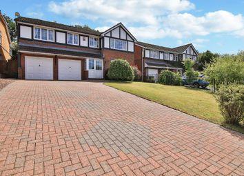 Thumbnail 5 bedroom detached house for sale in Parc Nant Celyn, Efail Isaf, Pontypridd