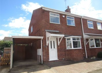 Thumbnail Semi-detached house to rent in Haycroft Close, Mansfield Woodhouse, Nottinghamshire