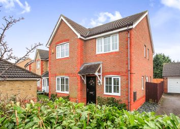 Thumbnail 4 bedroom detached house for sale in Telford Drive, Yaxley, Peterborough