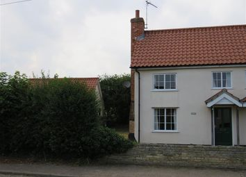 Thumbnail 3 bedroom semi-detached house to rent in High Road, Needham, Harleston