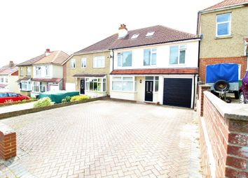 Thumbnail 4 bed semi-detached house for sale in Merthyr Avenue, Drayton, Portsmouth