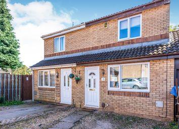 Thumbnail 2 bed semi-detached house for sale in Tavistock Close, Ecton Brook, Northampton