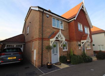Thumbnail 2 bed semi-detached house for sale in Hastings Avenue, West Cheshunt, Hertfordhsire