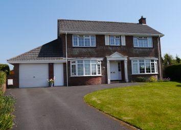 Thumbnail 4 bed detached house for sale in Tower Park, South Molton