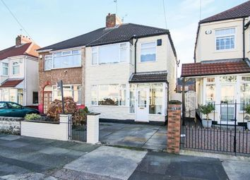 Thumbnail 3 bed semi-detached house for sale in Gordon Drive, Liverpool, Merseyside, England