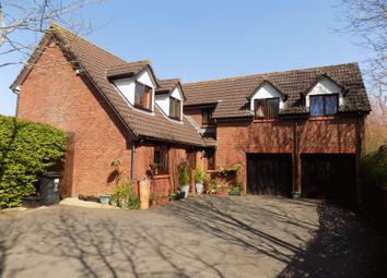 Thumbnail 6 bed detached house for sale in Hardwick Close, Swindon