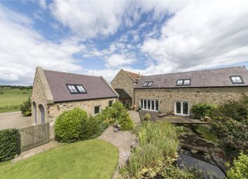 Thumbnail 5 bed detached house for sale in Whalton, Morpeth, Northumberland