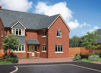 Thumbnail 4 bed detached house for sale in The Caldecott, The Beeches, Chester Road, Whitchurch, Shropshire