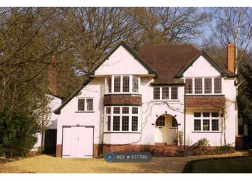 Thumbnail 4 bed detached house to rent in Walsall Road, Little Aston, Sutton Coldfield