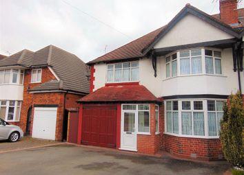 Thumbnail 4 bedroom semi-detached house for sale in Tessall Lane, Rednal, Birmingham