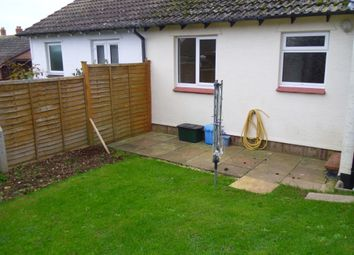 Thumbnail 2 bedroom semi-detached bungalow to rent in Larch Close, Seaton, Devon