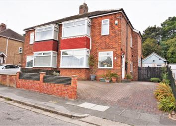 Thumbnail 3 bed semi-detached house for sale in Kilburn Road, Hartburn