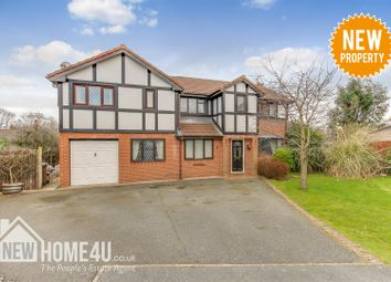 Thumbnail 5 bed detached house for sale in Gardd Eithin, Northop Hall, Mold