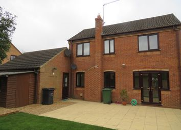 Thumbnail 4 bed detached house to rent in Leah Close, Great Oakley, Corby