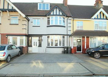 Thumbnail 4 bed terraced house for sale in Grange Road, Gravesend