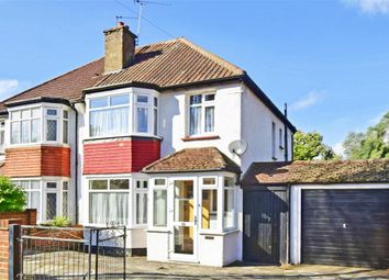 Thumbnail 3 bed semi-detached house for sale in Grasmere Road, Purley, Surrey