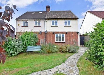 Thumbnail 2 bed semi-detached house for sale in Grove Road, Wickhambreaux, Canterbury, Kent
