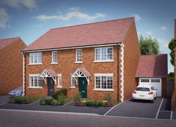 "Thumbnail 3 bedroom property for sale in ""The Elsenham"" at Knight Road, Wells"
