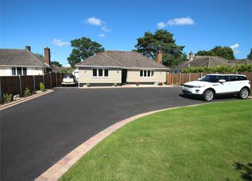 Thumbnail 3 bed detached bungalow for sale in Glenmoor Road, West Parley, Ferndown, Dorset