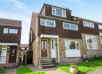 Thumbnail 4 bed semi-detached house for sale in Cummins Green, Bursledon, Southampton