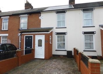 Thumbnail 3 bed terraced house to rent in Kemball Street, Ipswich