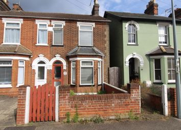 Thumbnail 2 bed semi-detached house for sale in Levington Road, Ipswich