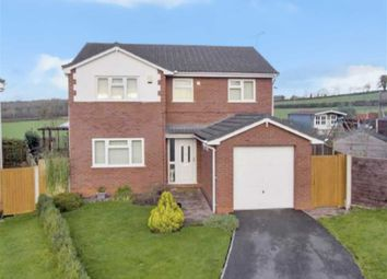 Thumbnail 4 bed detached house for sale in Maes Y Berwyn, Chirk, Wrexham
