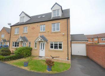 Thumbnail 4 bed semi-detached house for sale in 1 Bracken Court, Sherburn In Elmet, Leeds
