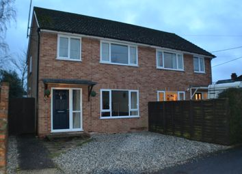 Thumbnail 3 bedroom semi-detached house to rent in St. Johns Road, Thatcham