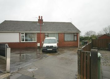 Thumbnail 2 bedroom semi-detached bungalow for sale in Norfolk Drive, Farnworth, Bolton