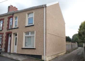 Thumbnail 3 bed end terrace house for sale in Church Street, Aberbargoed, Bargoed, Caerphilly Borough
